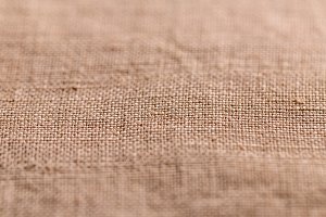 Brown sheer textured cloth
