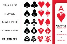 Playing Card Vector Symbols