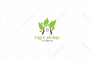 Tree Home Eco Logo