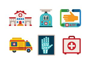Medical iconset