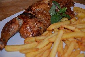 Fries & Chicken