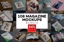Beautiful Magazine Mockups Bundle