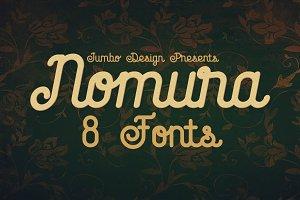 Nomura - Vintage Style Font