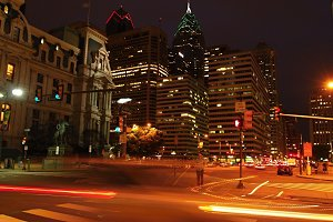 Night in Philadelphia
