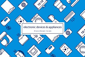 Electronic devices and appliances