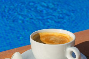 summer cup of coffee