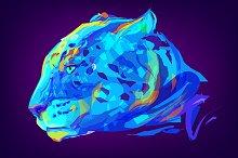 Jaguar (Animal set. Vector)