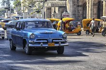 Vintage oldsmobile in Havana