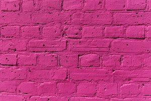 Pink Brick Wall Texture