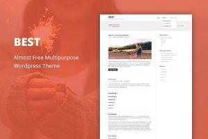 Best - Cheap WordPress Theme