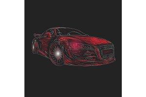 Chalk car design