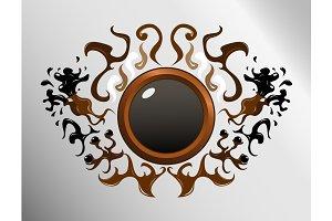 Circle sign design