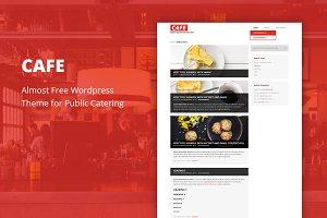 Cafe - Cheap WordPress Theme