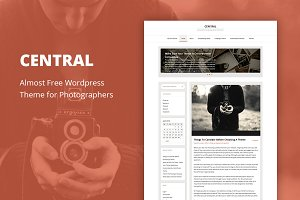Central - Cheap WordPress Theme