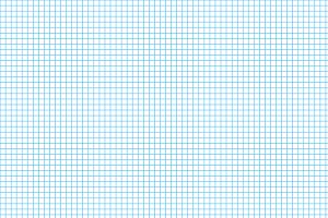Five millimeters cyan grid on a4