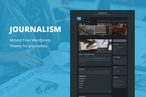 Journalism - Cheap WordPress Theme