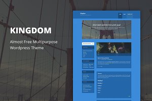 Kingdom - Cheap WordPress Theme