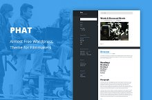 Phat - Cheap WordPress Theme
