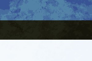True proportions Estonia flag
