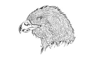 Stylised eagle