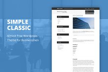 Simple Classic - WordPress Theme