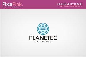 Planetec Logo Template