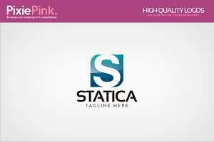 Statica Logo Template
