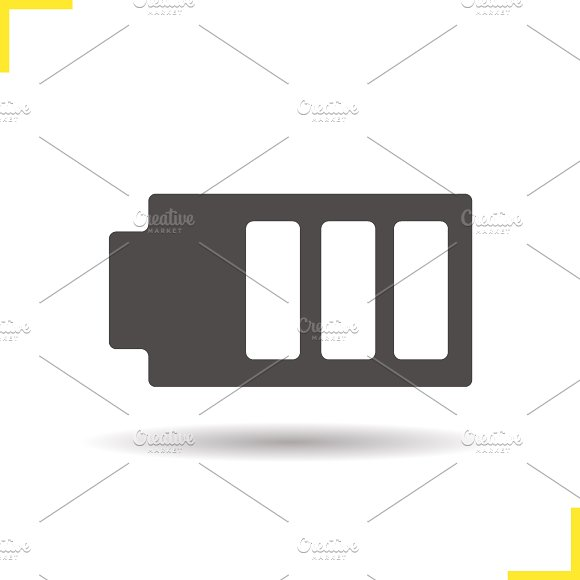 Battery icon. Vector - Icons