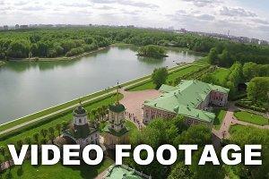 Scene of Tsaritsyno Park