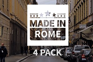 Made In Rome Pack