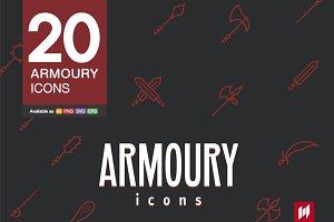 Armoury icons