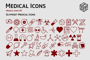Medical Icons + Web Font(Free)