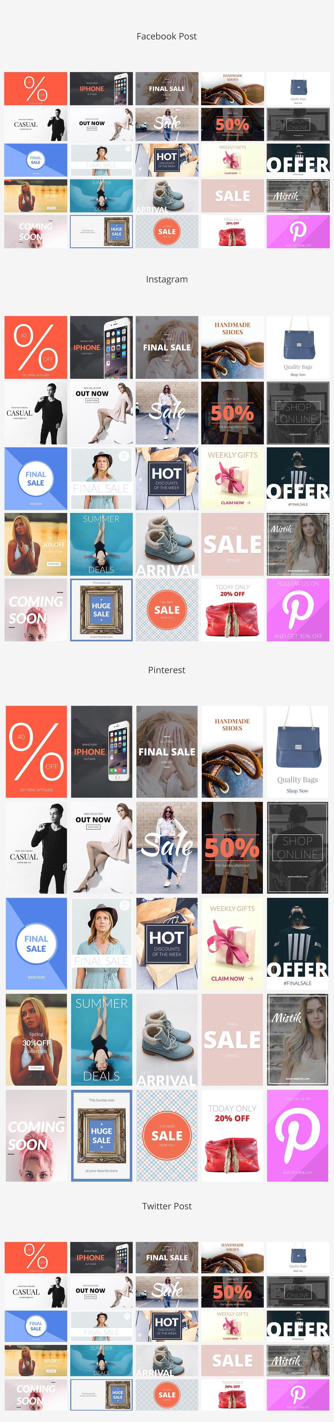 Shop Social Media Banners