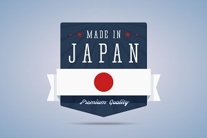 Made in Japan badge