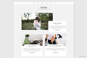 Sylène - Sleek WordPress Theme
