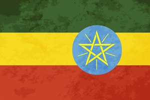 True proportions Ethiopia flag