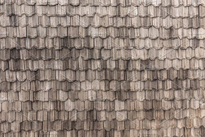 Seamless Roof Tiles Texture Abstract Photos Creative