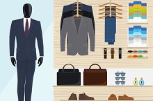 Man clothing store