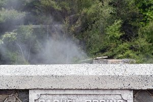 Geothermal geysers at Rotorua NZ