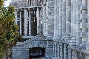 Parliament in Wellington New Zealand