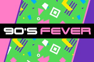 90's Fever - 24 Patterns!