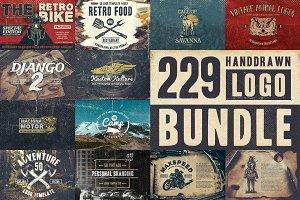 229 Handdrawn Logo Bundle