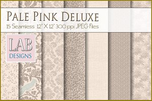 15 Pale Pink Deluxe Fabric Textures