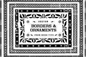 Borders & Ornaments Vector Art