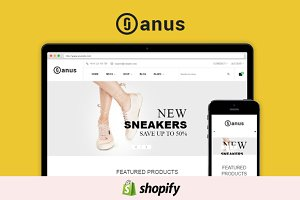 Janus Shopify Theme