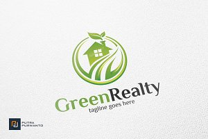Green Realty / House - Logo Template