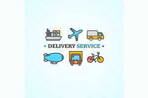 Delivery Concept. Vector