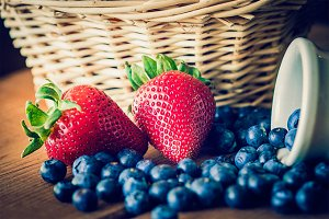 Berries and Basket