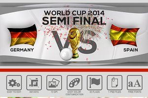 World Cup 2014 Facebook Cover