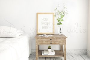 Styled stock Photography, Bedroom